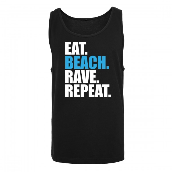 EAT BEACH RAVE REPEAT - Tank Top