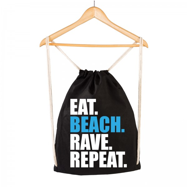 EAT BEACH RAVE REPEAT - Gymsac