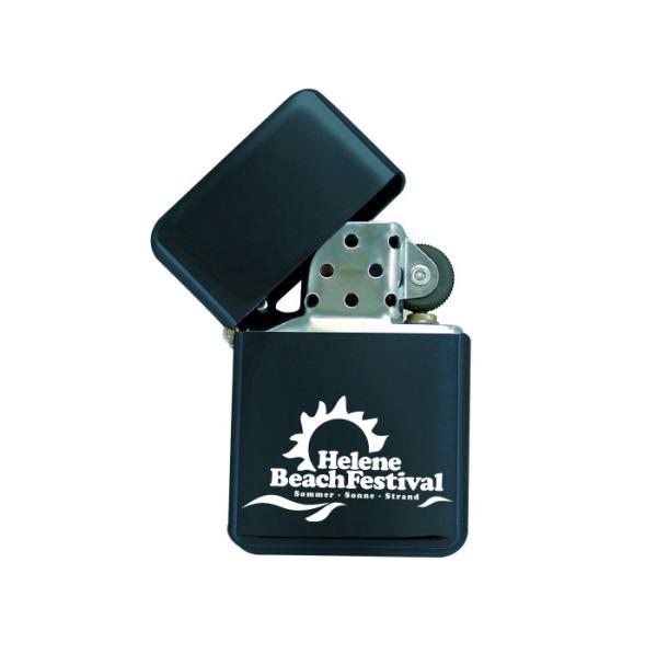 HBF LOGO - Benzinfeuerzeug