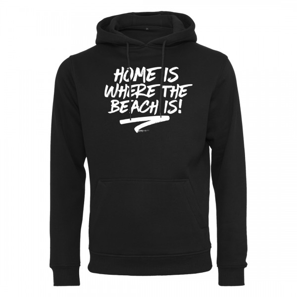 HOME IS WHERE THE BEACH IS! - Light Hoodie