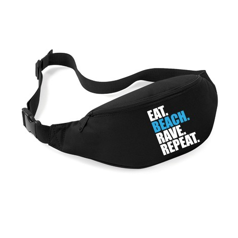 EAT BEACH RAVE REPEAT - Bauchtasche